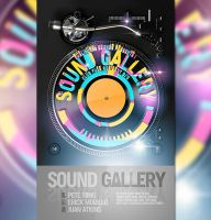 Sound Gallery - Flyer Template by Tokayoot