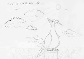 Moltres - Life Looking Up by Articuno