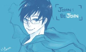 John: Be John. by just-a-web-artist