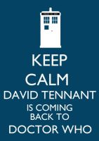 Keep Calm Whovian Version by InuHalfDemon