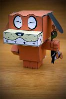 CubeCraft Duck Hunt Dog by digital-uncool
