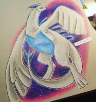 Meh Lugia by TheMoonfall