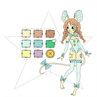 Patchwork Mouse Adoptable [OPEN] by KaidaFaye