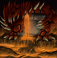 Groudon by Arcaneillusions