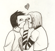 OFF: Sugar and Zacharie by shadowxneji