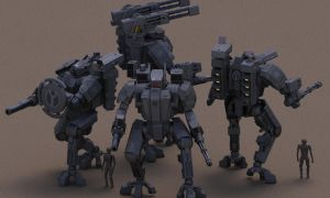 Iron Wolf Squad by Quesocito