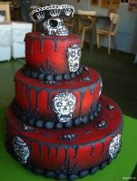 Halloween Cake by animelover700