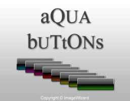 aQua buttons by ImageWizard
