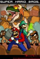 Super Mario Bros. by BrokenTeapot