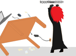 Axel Flipping Out - ROXXASSSS! by iSoralicious