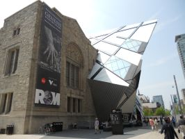 The ROM in Toronto by dragondoodle