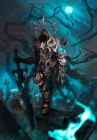 Death Knight by Nerkin