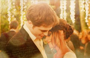 Edward and Bella background by nylfn