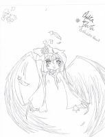 Unfinished Chibi Angel by AllAngelicTouch