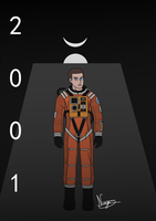 2001: Space Odyssey - Dave by NUG3M