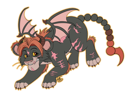 Manticore by Miss-Melis