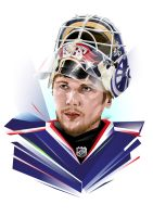 Sergei Bobrovsky by Fresco24