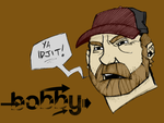 Colored: Bobby Singer. by EmonyJade