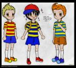 Mother: Ness Meets Claus by Candy-DanteL