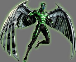 Green Lantern Angel by Lord-Lycan