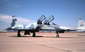 Nellis Agressor F-5F No. 1 by F16CrewChief