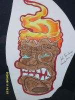 better picture of tiki head by Joshua-Rowlands