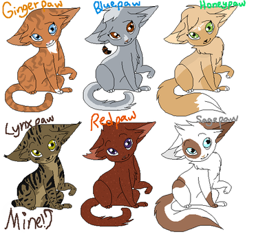 Warrior cat apprentice adopts-CLOSED by TwilightLuv10