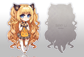 see u keychain by lackless