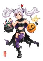 Halloween Witch by s7eventan