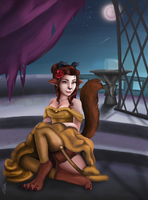 Beast Belle by Tetra-Triforce