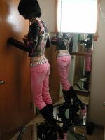 One guy's pink pants ... hehee by dude-girl