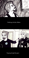 Tony/Steve- Talking To The Moon by Lady-of-Ratatosk