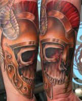 Trojan Skull for Wade by Phedre1985