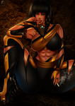 Deceiver: MKX Tanya Redesign by JassyCoCo