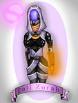 Tali Zorah and Chikktika by punk407