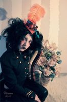 Rusty circus doll by cunene