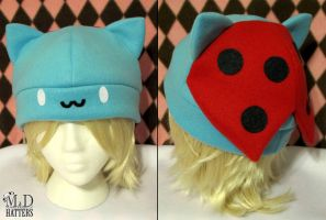 Catbug Fleece Hat by MDHatters