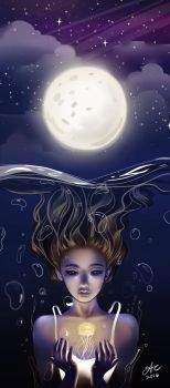 Under The Moon by aerith0808