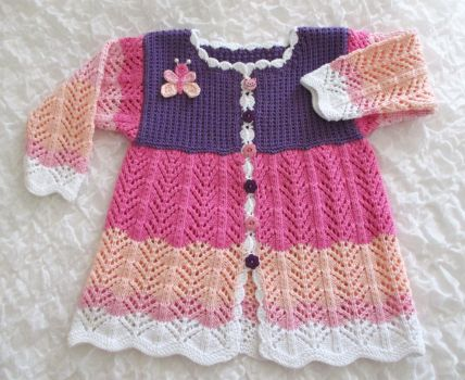 Cotton Coat for Toddler by ToveAnita