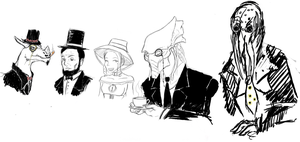 League Of Great Justice - Tea by TheKrakensMaster