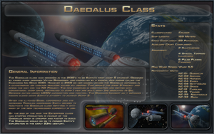 Daedalus Class Spec Sheet by Majestic-MSFC