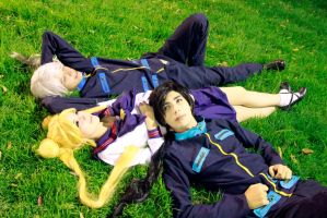 Usagi Tsukino - Yaten Kou - Seiya Kou - Cosplay by SailorMappy