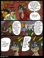 Sea Dog Shenanigans- Page 10 by Morghiesart