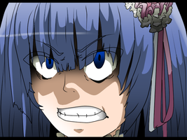 erika is angry by rosenknospeo