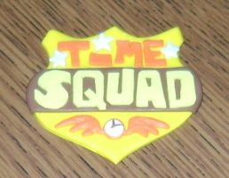 Time Squad Badge by FroggyDreams
