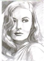 Veronica Lake by DarkLeeloo