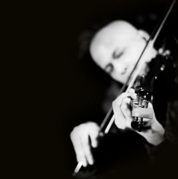 The violinist by anupjkat