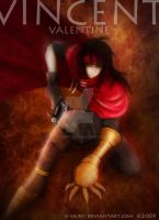 Vincent Valentine Vanart by V-hunt
