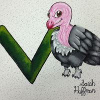 Alphabet Vulture Project by Snuggiepug