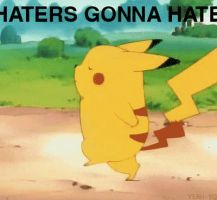 Pika Haters by rumper1